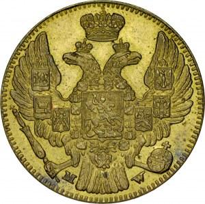 Królestwo Polskie, Odważnik wagi połowy imperiała wybity w Mennicy Warszawskiej.