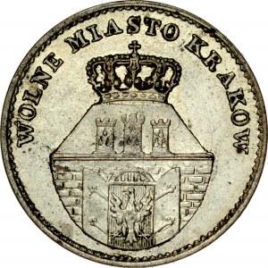 Wolne Miasto Kraków, 5 groszy 1835, Wiedeń.