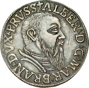 Prusy Książęce, Albrecht Hohenzollern 1525-1568, Trojak 1542, Królewiec.