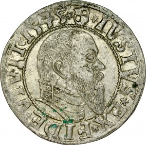 Prusy Książęce, Albrecht Hohenzollern 1525-1568, Grosz 1545, Królewiec.