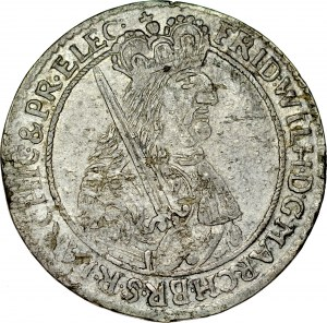 Prusy Książęce, Fryderyk Wilhelm 1641-1688, Ort 1666, Królewiec.