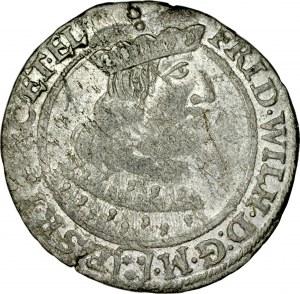 Prusy Książęce, Fryderyk Wilhelm 1641-1688, Szóstak 1658, Królewiec.