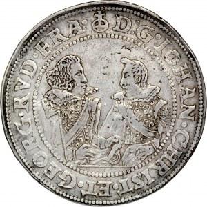 Śląsk, Księstwo Legnicko-Brzesko-Wołowskie, Jan Chrystian i Jerzy Rudolf 1603-1621, Dwutalar 1609, Złoty Stok.