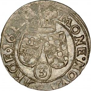 Śląsk, Księstwo Legnicko-Brzesko-Wołowskie, Jan Chrystian Brzeski 1621-1639, 3 krajcary 1622, Legnica?