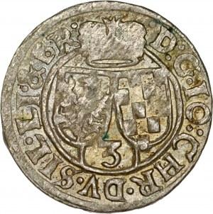 Śląsk, Księstwo Legnicko-Brzesko-Wołowskie, Jan Chrystian Brzeski 1621-1639, 3 krajcary 1622, Kluczbork.