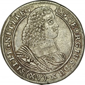 Śląsk, Księstwo Legnicko-Brzesko-Wołowskie, Jerzy III Brzeski 1654-1664, XV krajcarów 1659, Brzeg.