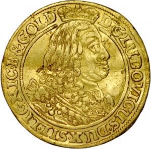 Śląsk, Księstwo Legnicko-Brzesko-Wołowskie, Ludwik 1653-1663, Dukat 1661, Brzeg.