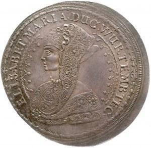 Śląsk, Księstwo Wirtembersko-Oleśnickie, Elżbieta Maria 1686, Talar 1686, Bierutów.