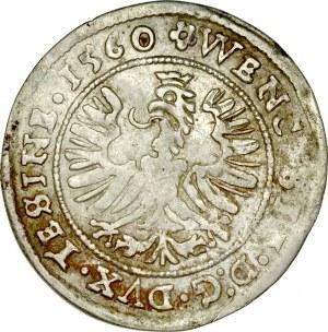 Śląsk, Księstwo Cieszyńskie, Wacław III Adam 1528-1579, Grosz 1560, Cieszyn.