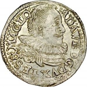 Śląsk, Księstwo Cieszyńskie, Adam Wacław 1579-1617, Trojak 1596, Cieszyn.