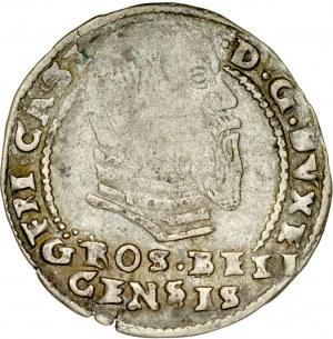 Śląsk, Księstwo Bielskie, Fryderyk Kazimierz 1563-1571, Grosz 1570, Bielsko lub Cieszyn.