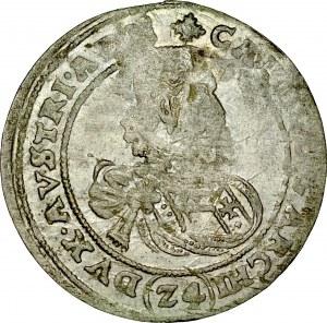 Śląsk, Księstwo Nyskie Biskupów Wrocławskich, Karol Austriacki 1608-1624, 24 krajcary b.d, Nysa.