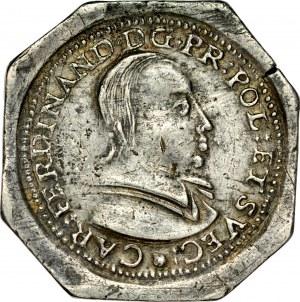 Śląsk, Księstwo Nyskie Biskupów Wrocławskich, Karol Ferdynand Waza 1625-1655, Talar 1632, Nysa.