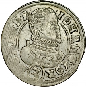 Śląsk, Księstwo Karniowskie, Jan Jerzy 1607-1621, 3 krajcary 1614, Karniów.