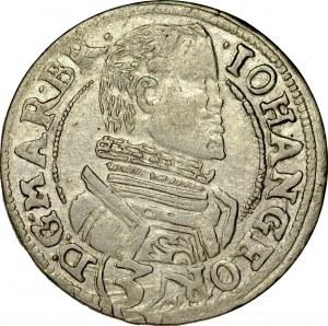 Śląsk, Księstwo Karniowskie, Jan Jerzy 1607-1621, 3 krajcary 1618, Karniów.