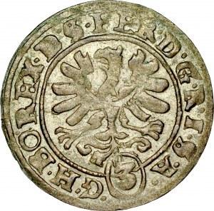 Śląsk, Wrocław, 3 krajcary 1621.