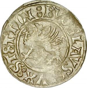 Pomorze, Bogusław X 1478-1523, Szeląg 1519, Szczecin.
