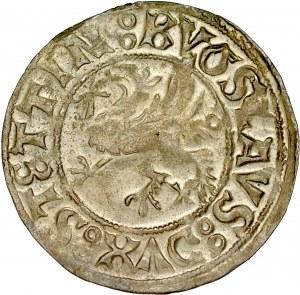 Pomorze, Bogusław X 1478-1523, Szeląg 1522, Szczecin.