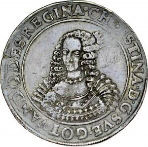 Pomorze, Krystyna 1632-1654, Talar 1647, Szczecin.