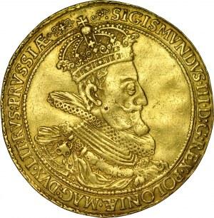 Zygmunt III 1587-1632, Donatywa 5 dukatowa 1614, Gdańsk.