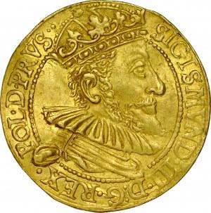 Zygmunt III 1587-1632, Dukat 1590, Gdańsk.