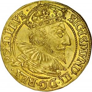 Zygmunt III 1587-1632, Dukat 1592, Gdańsk.