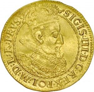 Zygmunt III 1587-1632, Dukat 1614, Gdańsk.