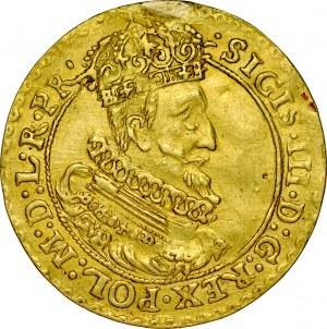Zygmunt III 1587-1632, Dukat 1625, Gdańsk.