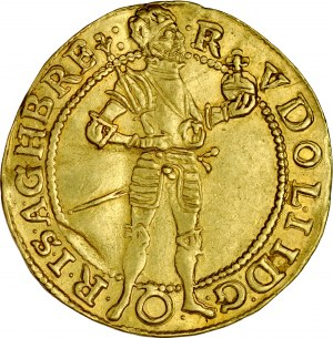 Austria, Rudolf II 1572-1612, Dukat 1593, Wiedeń.