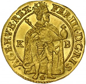 Węgry, Ferdynand III 1637-1657, Dukat 1650, Kremnica.