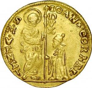 Wenecja, Giovanni Corner II 1709-1722, Cekin b.d.