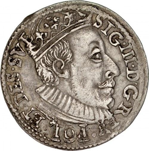 Zygmunt III 1587-1632, Trojak 1588, Olkusz.