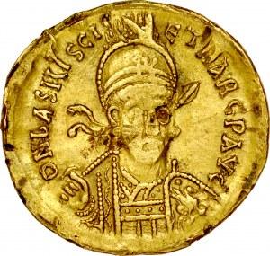 Solid, Konstantynopol, Basiliscus 475-476.