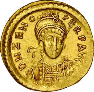 Solid, Konstantynopol, Zeno 476-491.
