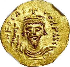 Solid, Konstantynopol, Fokas 602-610.