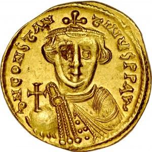 Solid, Konstantynopol, Konstans II 641-668.