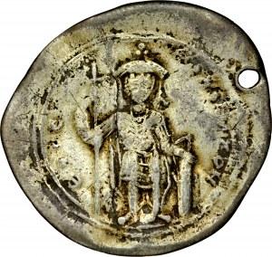 Srebrny miliarension, Konstantynopol, Konstantyn IX 1042-1055.
