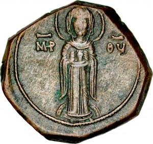 Brązowy tetarteron, Konstantynopol, Andronik I 1183-1185.