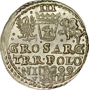 Zygmunt III 1587-1632, Trojak 1599, Olkusz.