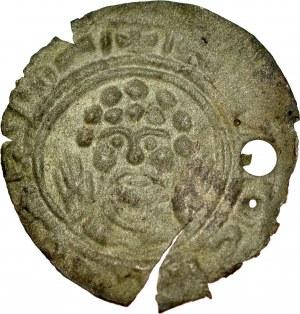 Pomorze Zachodnie, Bogusław III 1190-1223, Denar jednostronny, prawdopodobnie fałszerstwo z epoki,