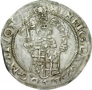 Zakon Kawalerów Mieczowych, Henryk von Galen 1551-1557, 1/2 marki 1556, Ryga.