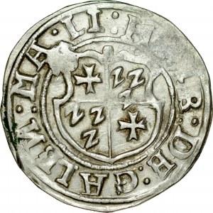 Zakon Kawalerów Mieczowych, Henryk von Galen 1551-1557, Ferding 1554, Tallin.