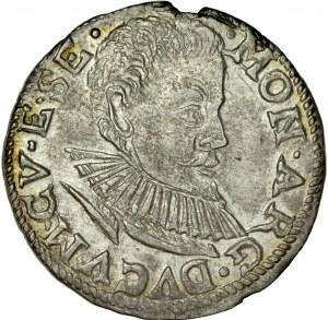Kurlandia, Fryderyk Kettler 1587-1642, Trojak 1597, Mitawa.