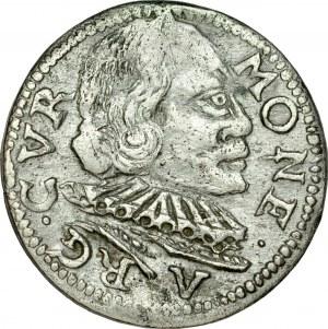 Kurlandia, Wilhelm Kettler 1596-1616, Trojak 1598, Mitawa.