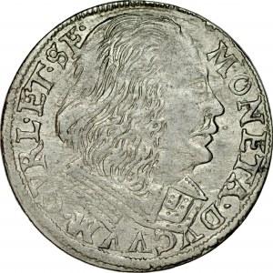 Kurlandia, Wilhelm Kettler 1596-1616, Trojak 1606, Mitawa, RRR.