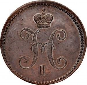 Rosja, Mikołaj I 1825-1855, 3 kopiejki 1844 EM, Ekaterinburg.