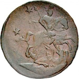 Rosja, Piotr III 1761-1762, 4 kopiejki 1762, bez oznaczenia mennicy.