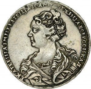 Rosja, Katarzyna I 1725-1727, Rubel 1726, Moskwa.