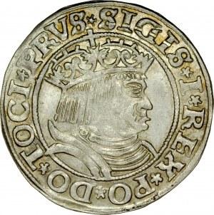 Zygmunt I Stary 1506-1548, Grosz 1531, Toruń.