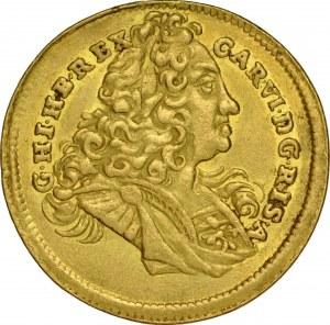 Transylwania, Karol VI 1711-1740, Dukat 1727, Gyulafehervar.